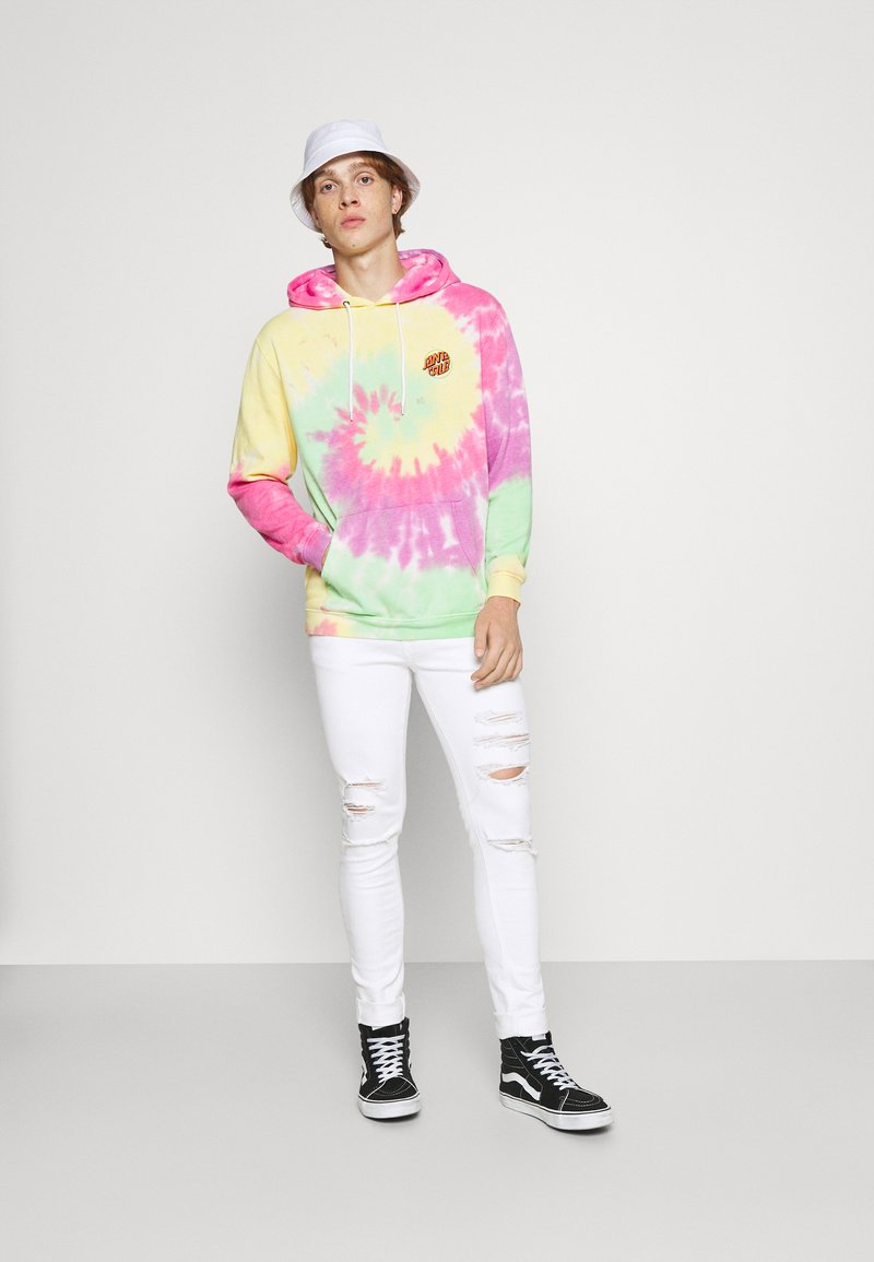 Santa Cruz - TOXIC HAND HOOD UNISEX - Sweatshirt - multicoloured
