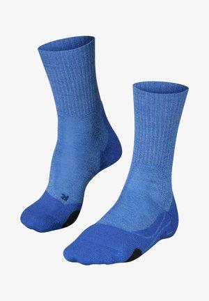 TK 2 WOOL - Sports socks - blue note
