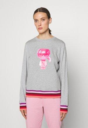 STRIPE IKONIK - Sweater - light grey