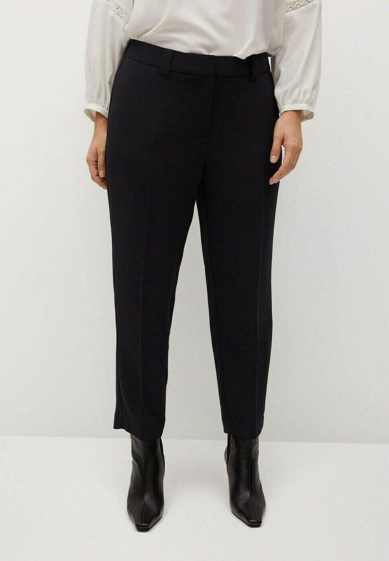 Violeta by Mango - LEONOR8 - Kalhoty - schwarz