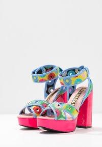Kat Maconie - CHARLIE - Sandales à talons hauts - lipstick pink/multicolor - 4