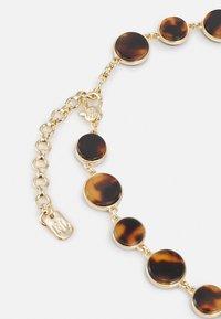 Lauren Ralph Lauren - CREST COLLAR - Necklace - gold-coloured/tort - 1