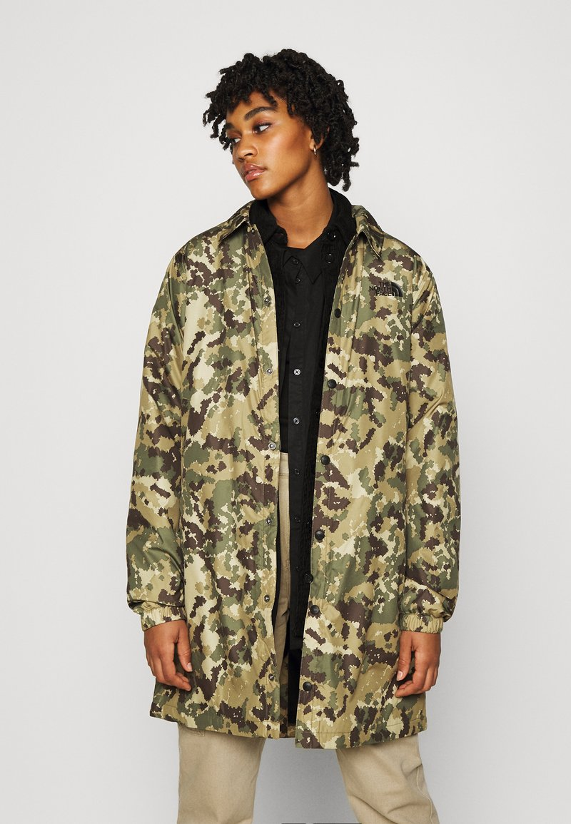 The North Face - TELEGRAPHIC COACHES JACKET - Parka - burnt olive green