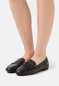 Lauren Ralph Lauren - ADISON - Nazouvací boty - black - 0
