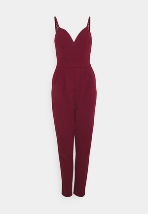 DEMI STRAPPY - Jumpsuit - wine