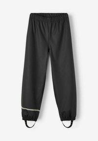 Name it - NKNDRY RAIN SET UNISEX - Rain trousers - black - 3