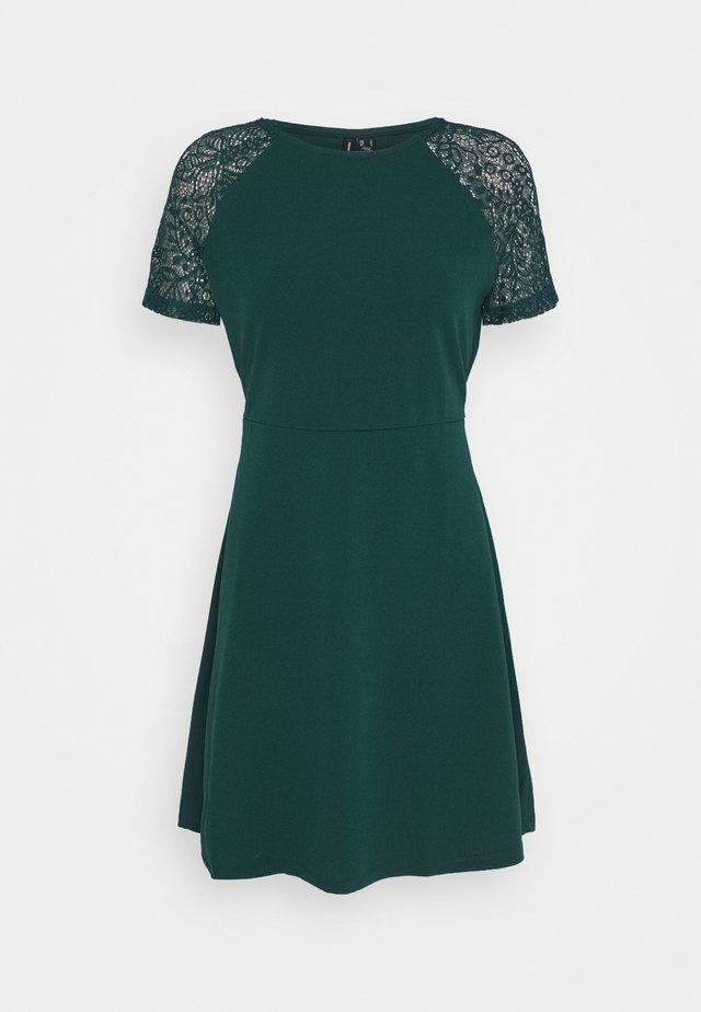 VMJASMINE TIE DRESS  - Jersey dress - ponderosa pine