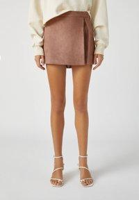 PULL&BEAR - A-line skirt - rose gold - 0