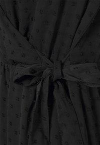 JDY - JDYEMILIA WRAP DRESS - Day dress - black - 5