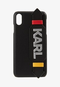 KARL LAGERFELD - CASE WITH STRAP MAX - Étui à portable - black - 1