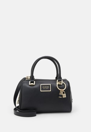 HANDBAG TYREN BOX SATCHEL - Handtas - black