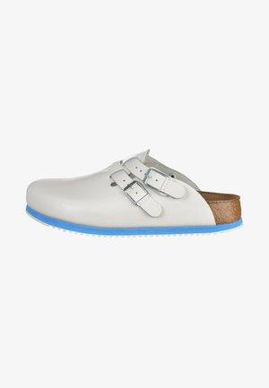 KAY - Slip-ins - white/light blue