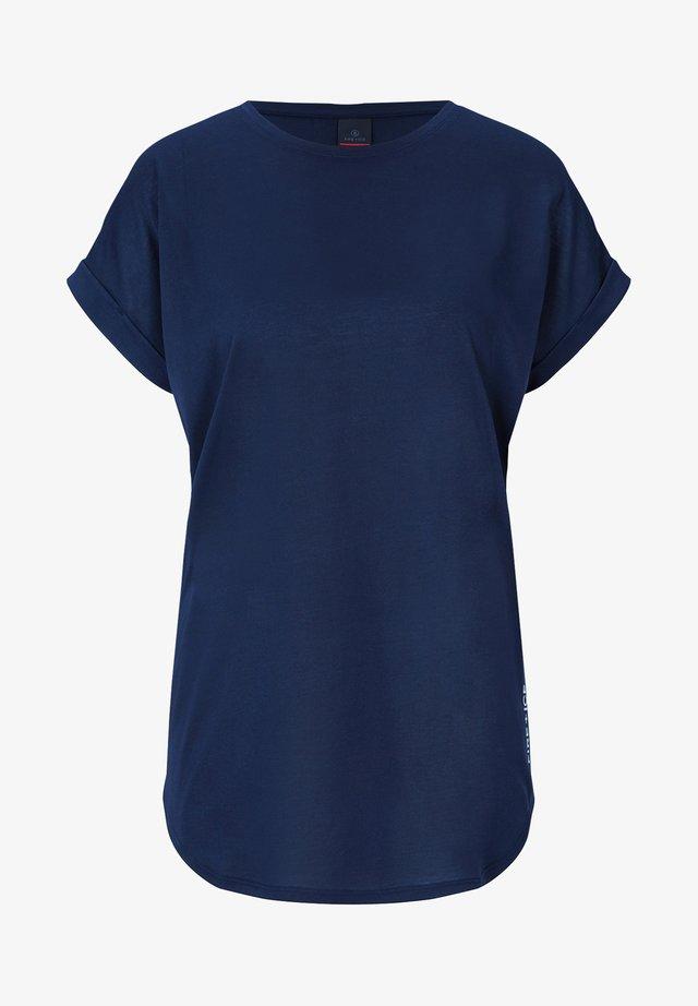 EVIE - T-shirt basique - navy-blau