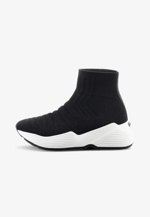 YUKO - High-top trainers - black
