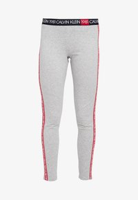 Calvin Klein Underwear - 1981 BOLD LOUNGE LEGGING - Pyjamasbukse - grey heather - 3