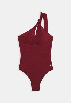 SHINE - Plavky - oxblood