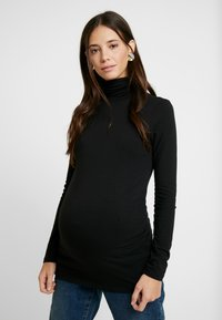 Anna Field MAMA - Long sleeved top - black - 0