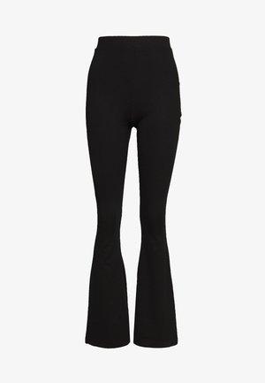 FLARE PANT - Leggings - Trousers - black