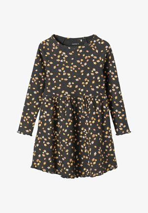 Jumper dress - dark grey melange