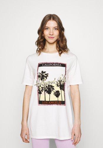 Print T-shirt - pink light
