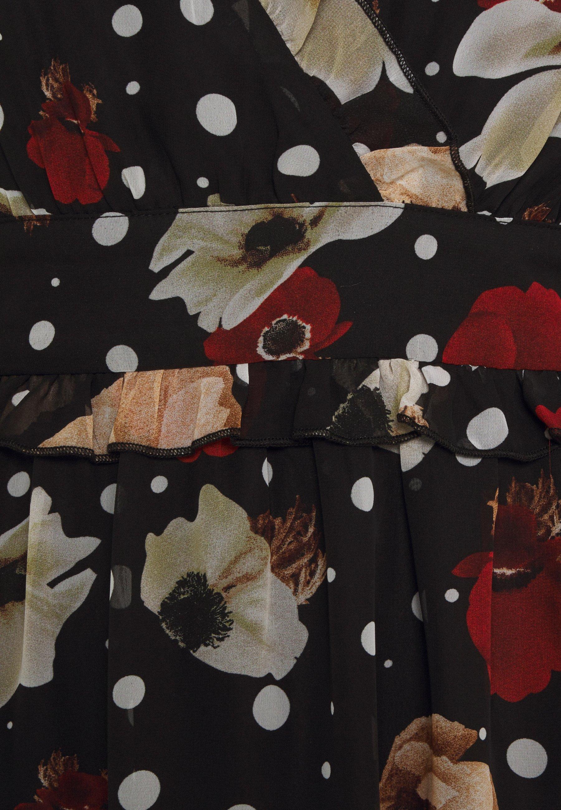 U Collection by Forever Unique Freizeitkleid black/schwarz