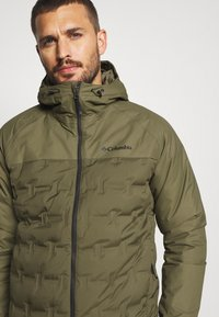 Columbia - GRAND TREK JACKET - Down jacket - stone green - 3