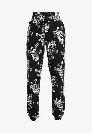 Pyjamabroek - black/white