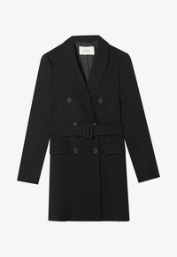 Stradivarius - Trenchcoat - black