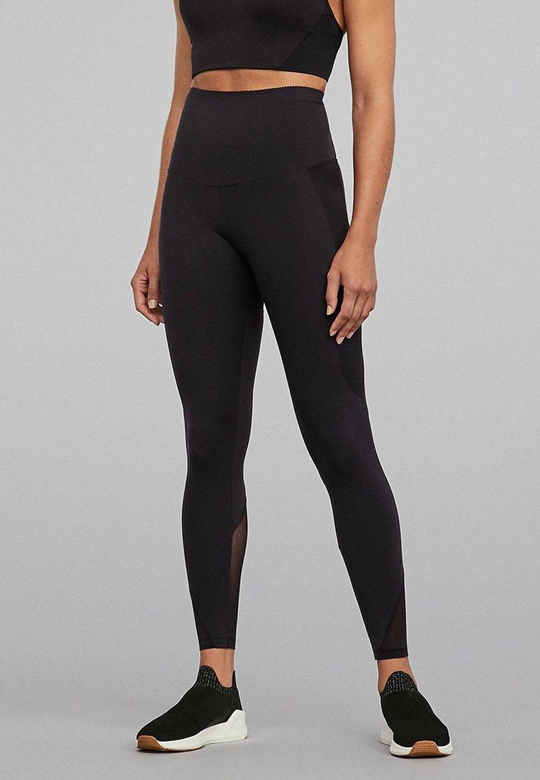 OYSHO - SUPER SCULPT - Leggings - black