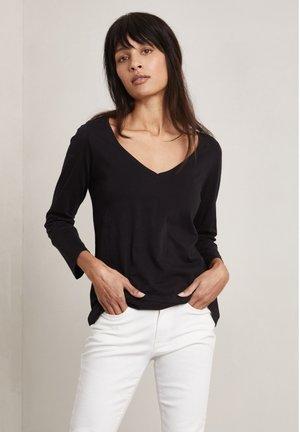 NINAH - Long sleeved top - dark evening black
