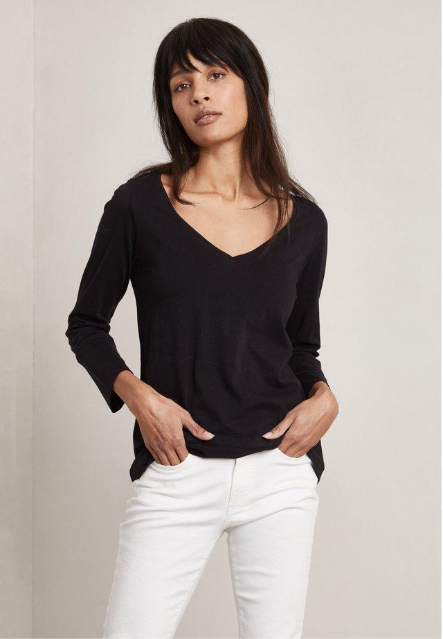 NINAH - Langærmede T-shirts - dark evening black