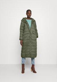 edc by Esprit - COAT - Winter coat - khaki green - 0