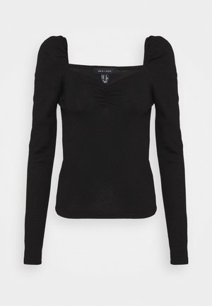 SWEETHEART JUMPER - Strikkegenser - black