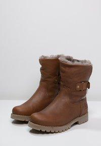 Panama Jack - FELIA IGLOO - Cowboy/biker ankle boot - cognac - 2