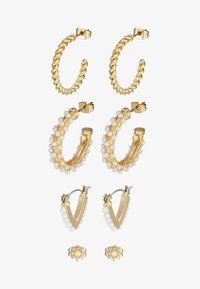 Pieces - PCNIVI EARRINGS 4 PACK - Earrings - gold-coloured - 2