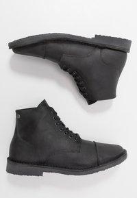 Jack & Jones - JFWLEE BOOT  - Snørestøvletter - black - 1