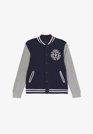 Mikina na zip - french navy