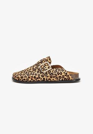Sabots - leopard