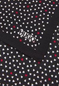 HUGO - POCKETSQUARE - Pocket square - black - 3