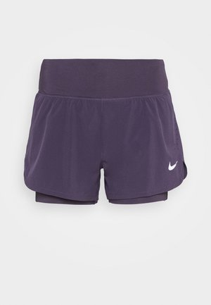 ECLIPSE 2 IN 1 SHORT - Pantalón corto de deporte - dark raisin