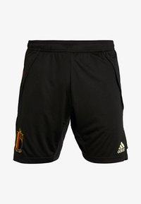 adidas Performance - BELGIUM RBFA TRAINING SHORTS - Short de sport - black - 3