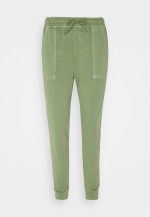 PANT WASH - Tracksuit bottoms - light khaki