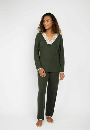 MARILYN - Pyjama set - dark green