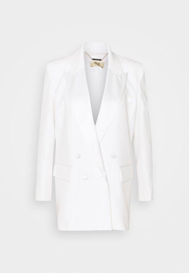 GIACCA BOYFRIEND - Krátký kabát - star white