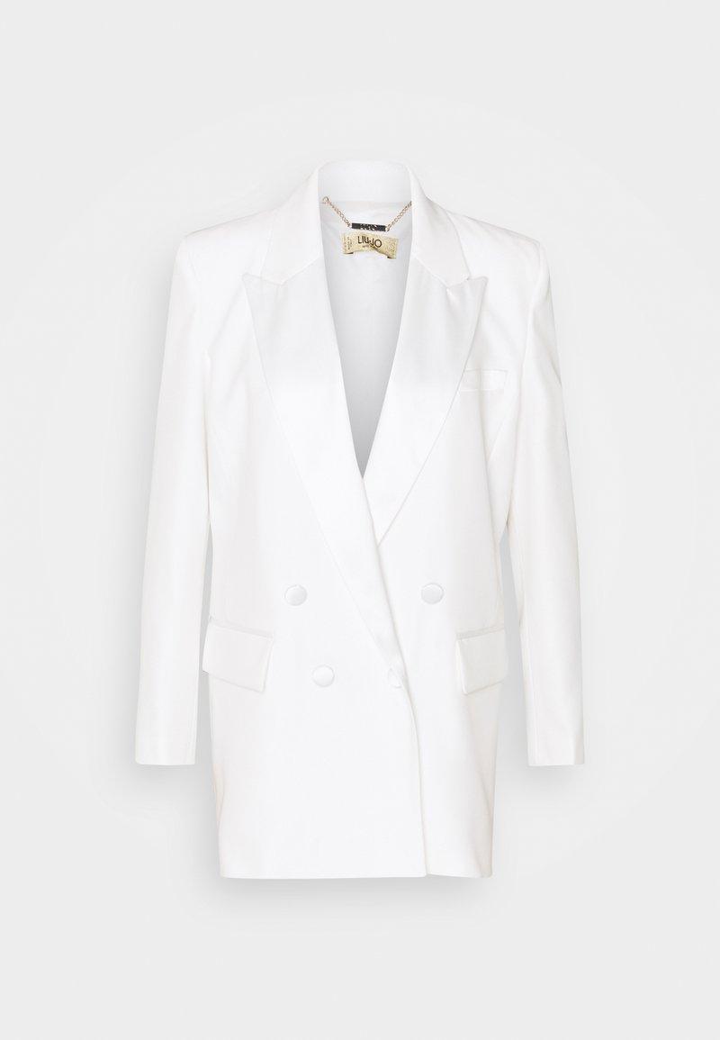 LIU JO - GIACCA BOYFRIEND - Krátký kabát - star white