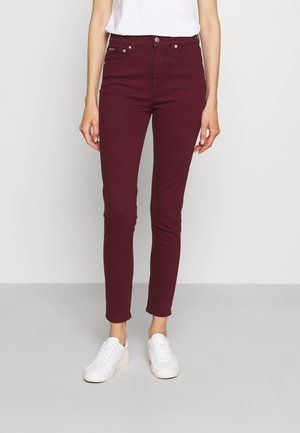 ANKLE - Jeans Skinny Fit - riella burgundy