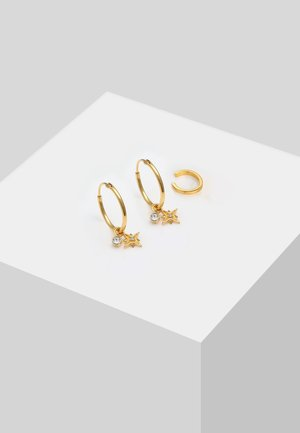 2ER SET - Earrings - gold-coloured