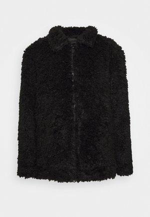 AKASHA - Fleece jacket - black
