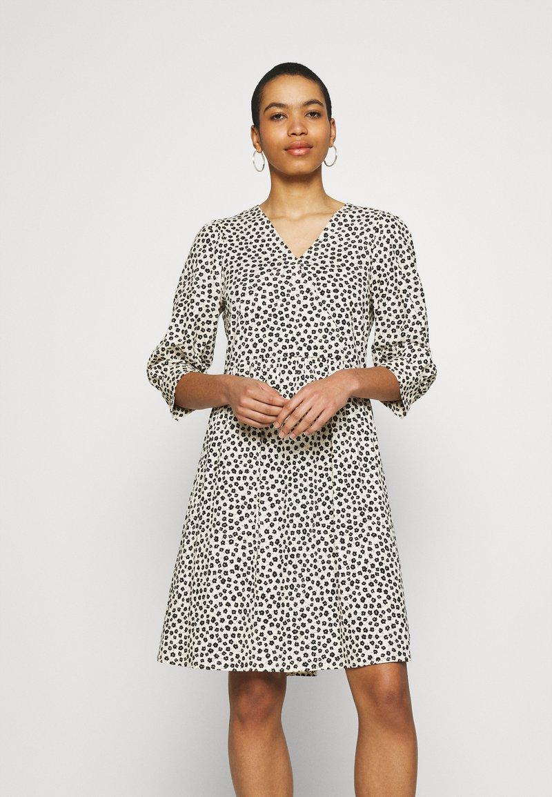 Moss Copenhagen - LATRICE DRESS - Day dress - ecru