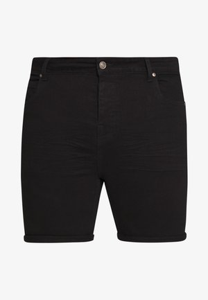 Jeansshorts - black wash
